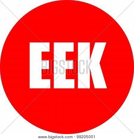 Eek Icon