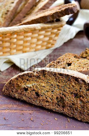 Biscotti with poppy seeds