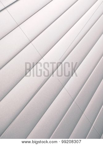 Silver slat background dramatic angled up right