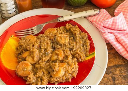 Shrimp Gumbo Supper