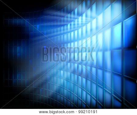 Led display. Vector illustration.