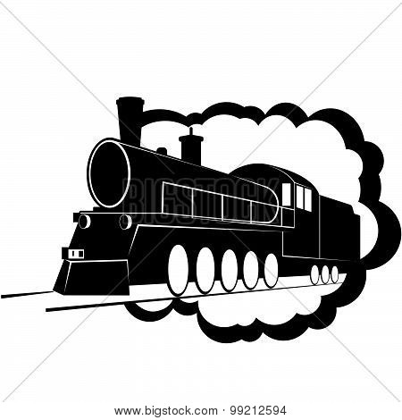 Old steam locomotive-3
