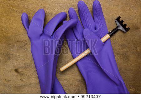Rubber Gloves For Garden