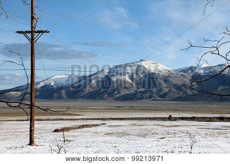 Winter on the high desert