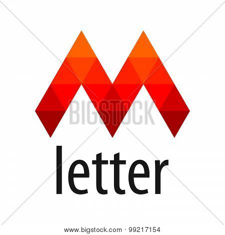 Vector Logo Red Letter M Module