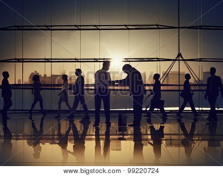 Business People Respect Culture Office Concept