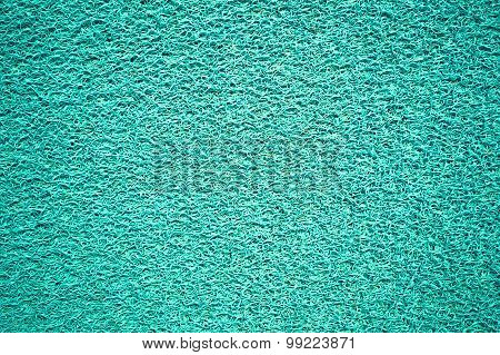 Canvas textured artificial green background