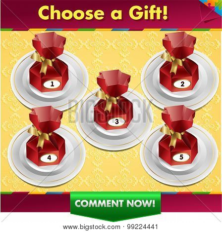 Choose A Gift Win A Prize