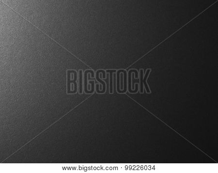 Silver Black Metallic Background - Stock Image