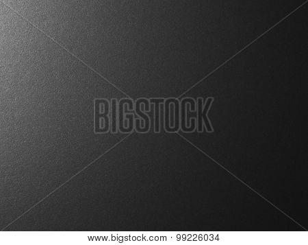 Silver Black Metallic Background - Stock Image