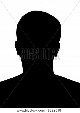 Profile picture silhouette