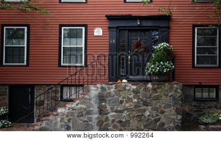 Door Number Sixty Three Historic Marblehead Massachusetts