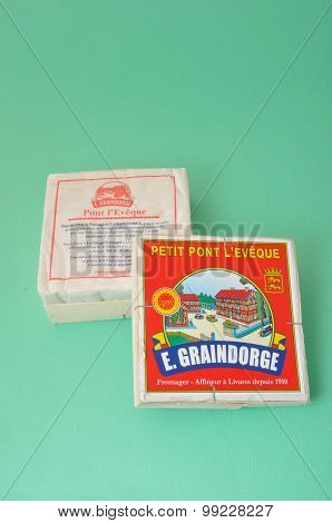 Pont l'Eveque, french cheese