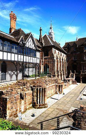 Abbey Priory Gardens, Coventry.