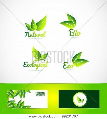 Bio Organic Eco Product Logo