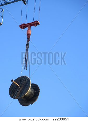 Cable Drum On Crane