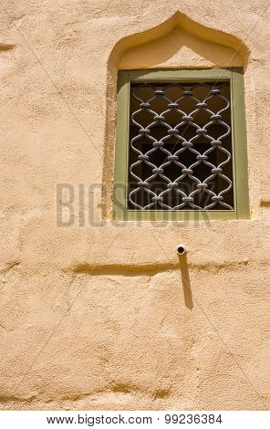 ancient traditional arch window in Maltese Mdina