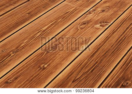 Wooden Floor Texture For Background Perspective