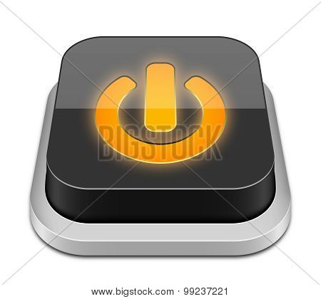 Power Button Icon, Vector Illustration