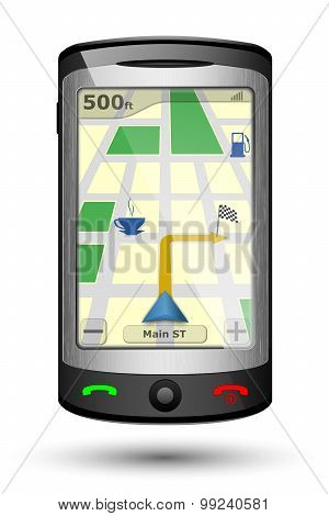 Gps Navigator Vertical