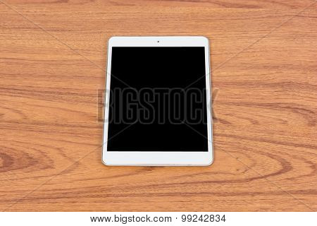 White Digital Tablet