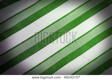 The fabric Textile Background With The Striped Pattern