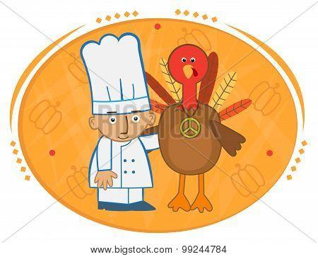 Chef and Turkey
