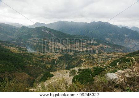 China Sichuan scenic State Road 318