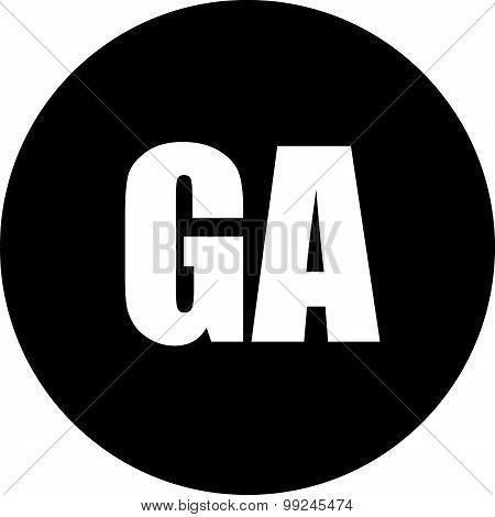 Ga Icon