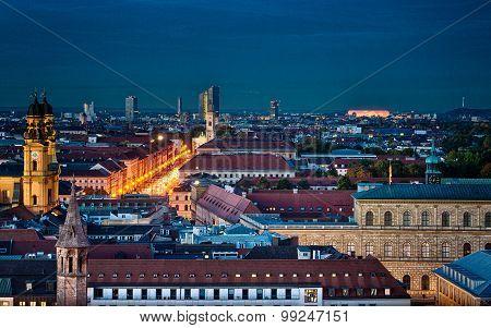 St. Peter's Church, Munich. Germany