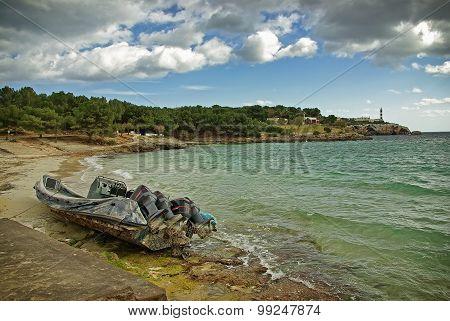 Drug Trafficking Boat
