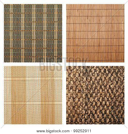 Serving mat texture