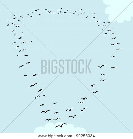 Bird Formation In D