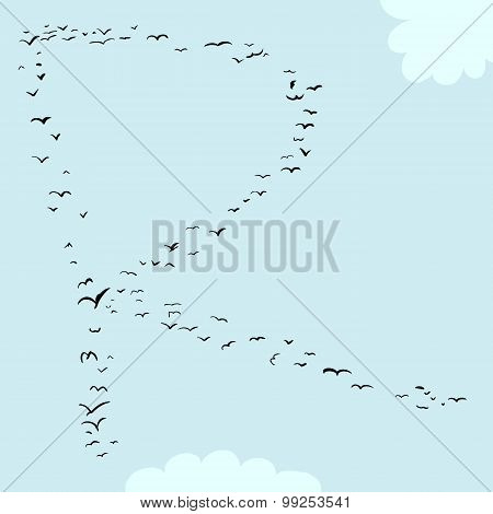 Bird Formation In R