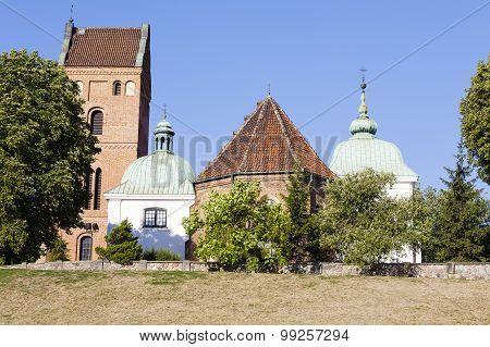Church On The Vistula Escarpment, Warsaw, Poland