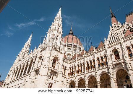 Budapest, parliament