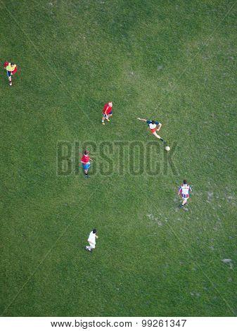 Soccer Players, Vienna