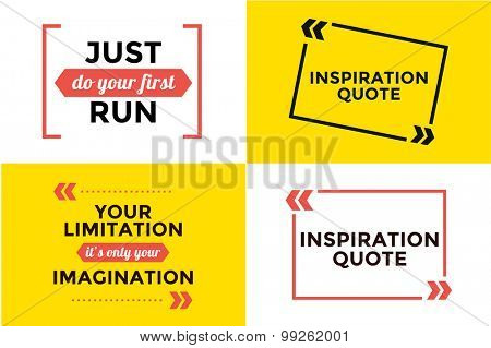 Sport quote blank template bubble set. Quote bubble. Empty template. Circle business card template, paper sheet, information, text. Print design. Quote form. Template vector set
