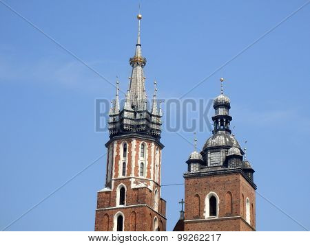 Saint Mary's Basilica in Krakow