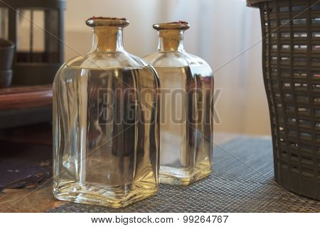 Square bottle chacha