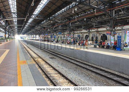 Old railway station in Kuala Lumpur, 2013