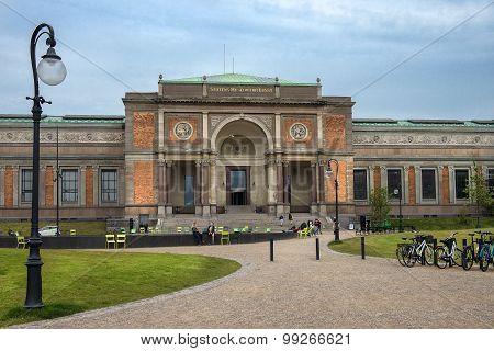 Danish National Gallery In Copenhagen, Denmark
