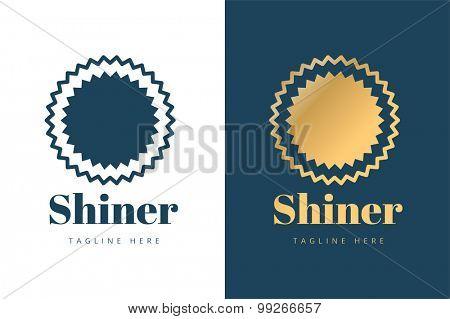 Abstarct sun logo icon template. Sun natural vector. Sunshine, swirl or nature symbol. Vector logo, weather, summer logo. Sun logo isolated. Sun star