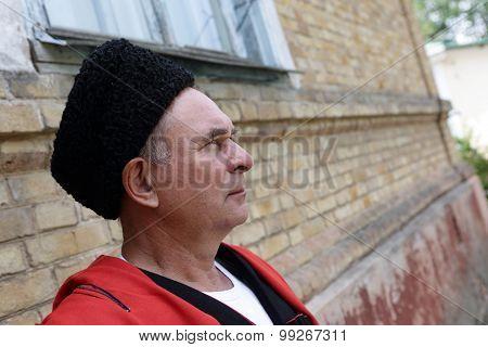 Face Of Kuban Cossack
