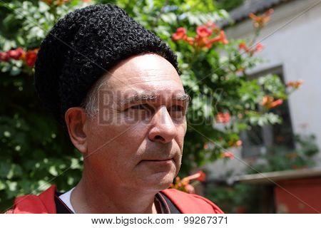 Portrait Of A Kuban Cossack