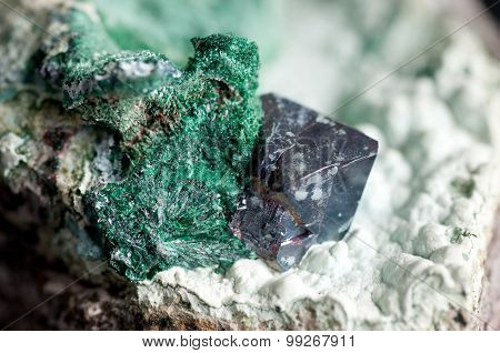 Cuprite Mineral Sample