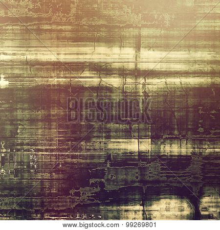 Vintage old texture for creative retro background. With different color patterns: yellow (beige); brown; purple (violet); gray