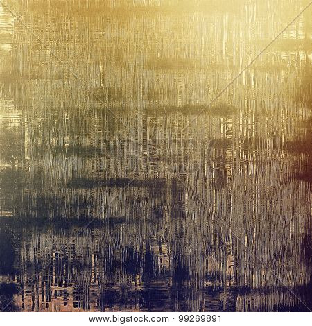 Old texture or antique background. With different color patterns: yellow (beige); brown; purple (violet); gray