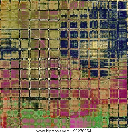 Grunge texture. With different color patterns: brown; purple (violet); green; blue
