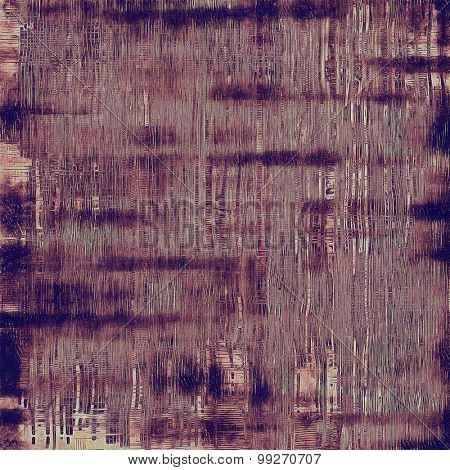 Rough grunge texture. With different color patterns: brown; purple (violet); gray; pink